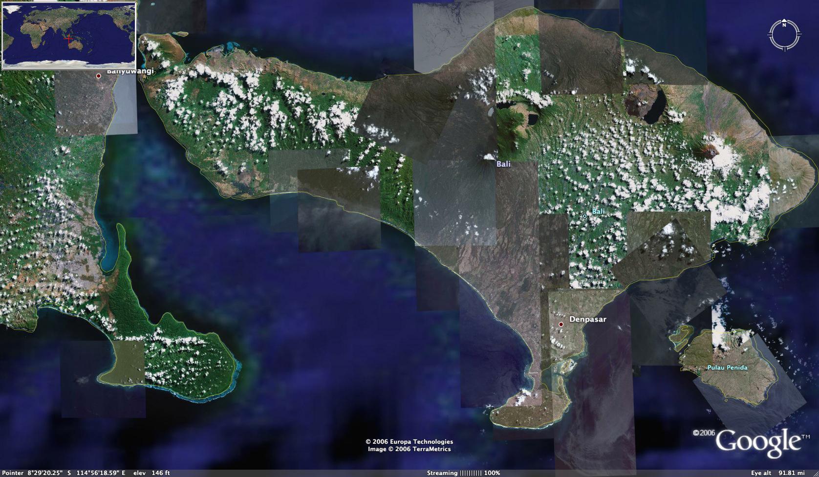 Pulau Bali Map Bali Indonesia Map Islands