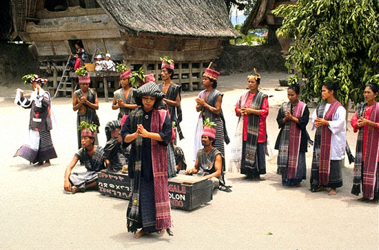 Batak People Indonesia