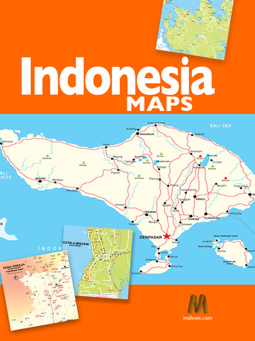 digital indonesia map | visit indonesia – the most