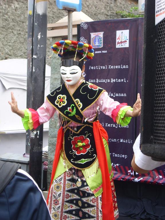 La danse traditionelle de Betawi