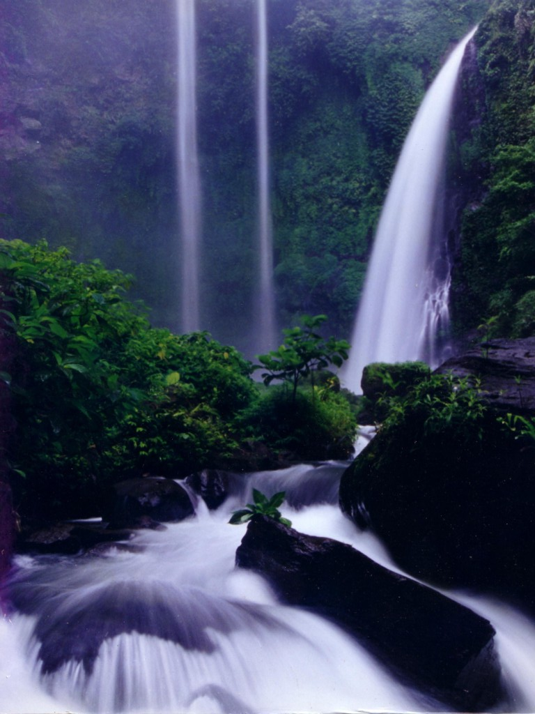 Bajuin Waterfall – Visit Indonesia – The Most Beautiful
