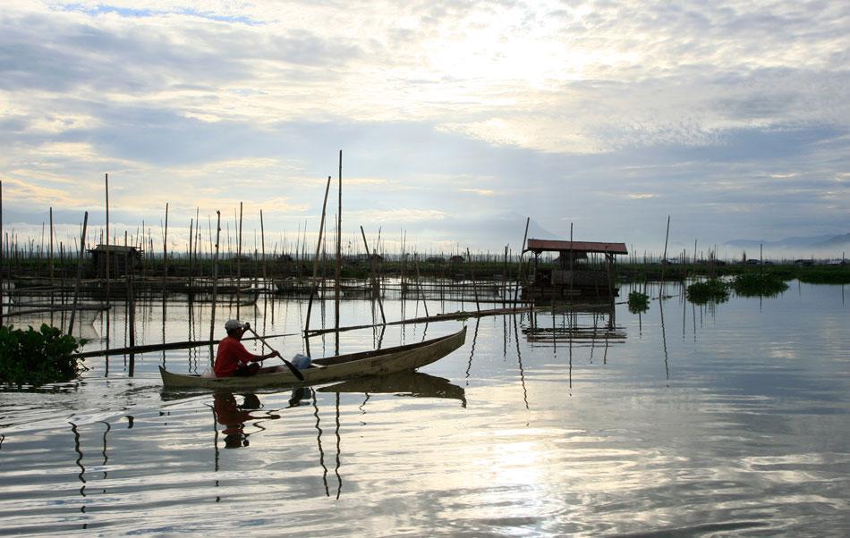 Le Lac de Limboto, Gorontalo