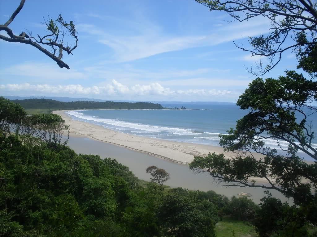 La plage Sawarna , Lebak - Banten