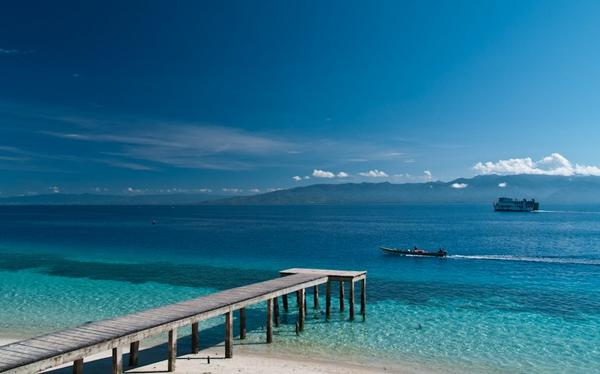 Pampering Yourself At Liang Beach, Ambon