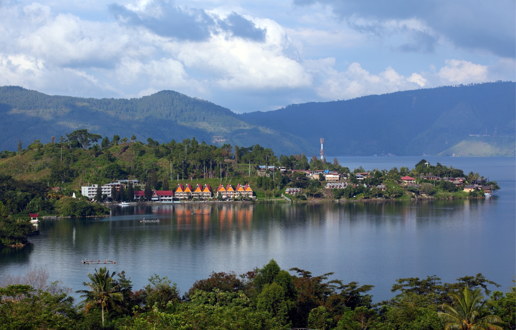 The Grandiose Toba Lake in North Sumatra Province