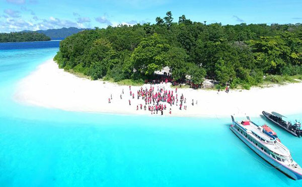 As Crossborder Tour Destination, Talaud Make Sara Island As Nautical Icon