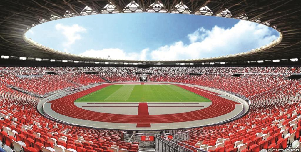 Gelora Bung Karno Stadium in Jakarta City, DKI Province
