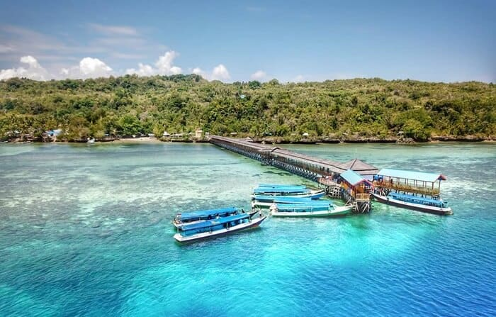 Karampuang Island Tourism in Mamuju