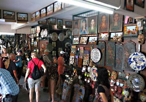Pasar Klewer Klewer Market Tourism