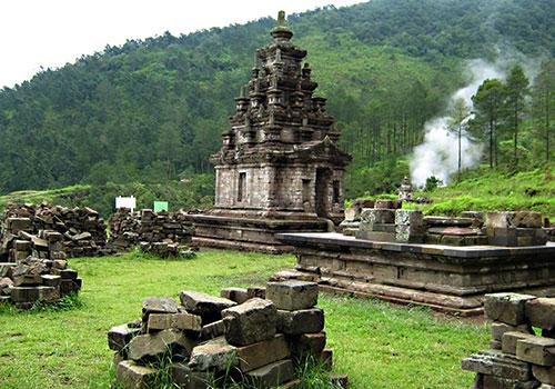 Bandungan And Gedong Songo Temple Tourism