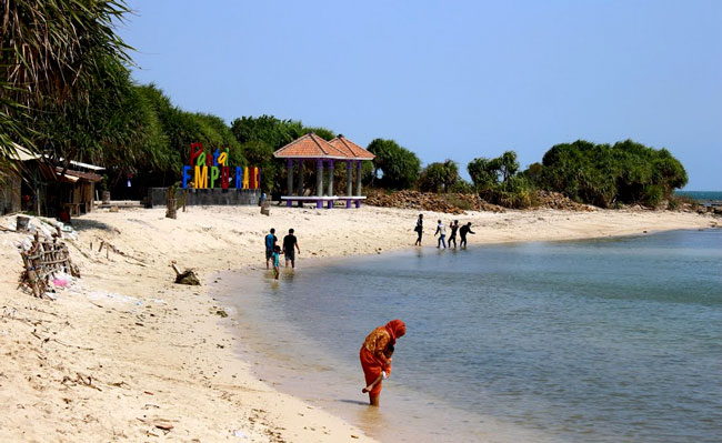 Empu Rancak Beach In Jepara Regency Central Java Province