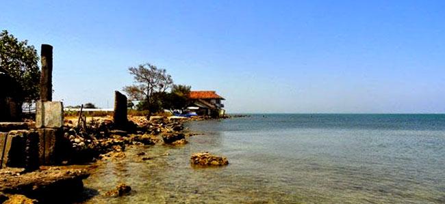 Ombak Mati Bondo Beach In Jepara Regency Central Java Province