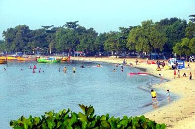 Tirta Samudra Beach In Jepara Regency Central Java Province