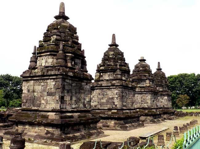 Lumbung Temple in Klaten Regency, Central Java Province