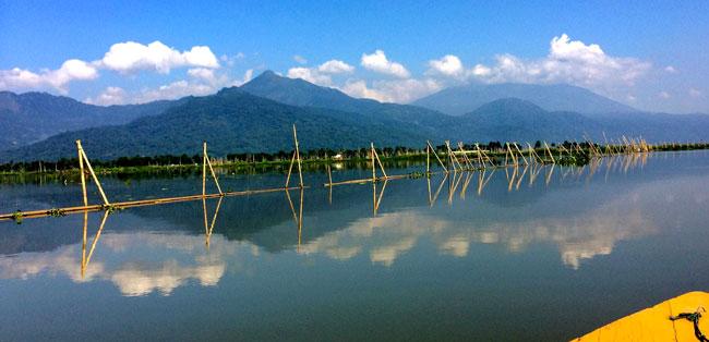 Rawa Pening Lake In Semarang Regency Central Java Province