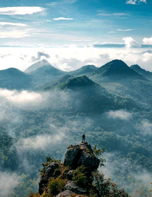 Cumbri Hill In Wonogiri Regency Central Java Province