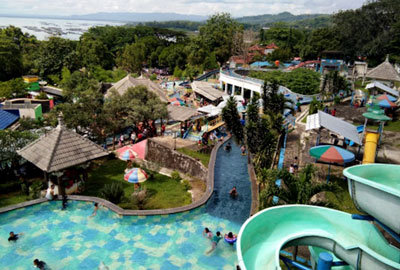 Gajah Mungkur Waterboom In Wonogiri Regency Central Java Province