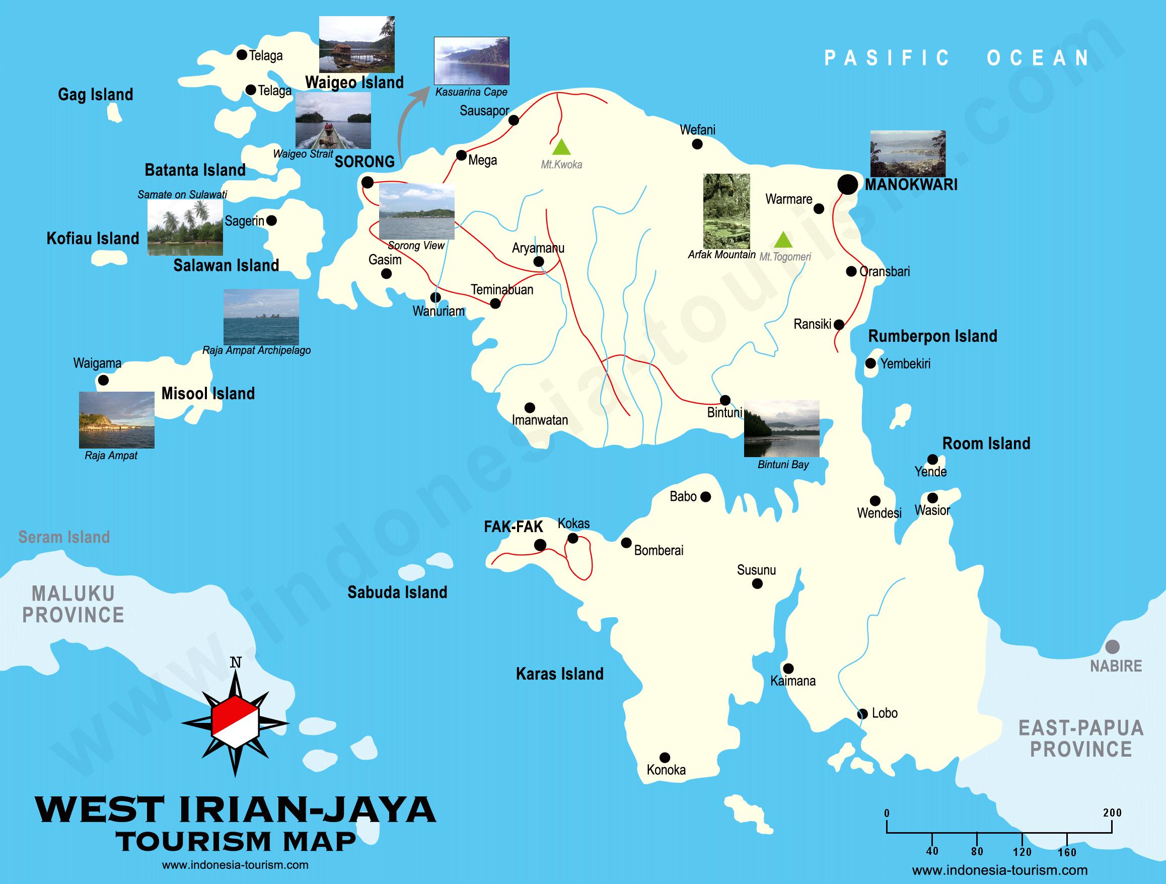 Le Plan De Louest Papua