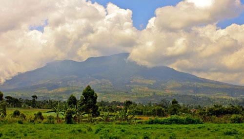 Mount Galunggung Tourism