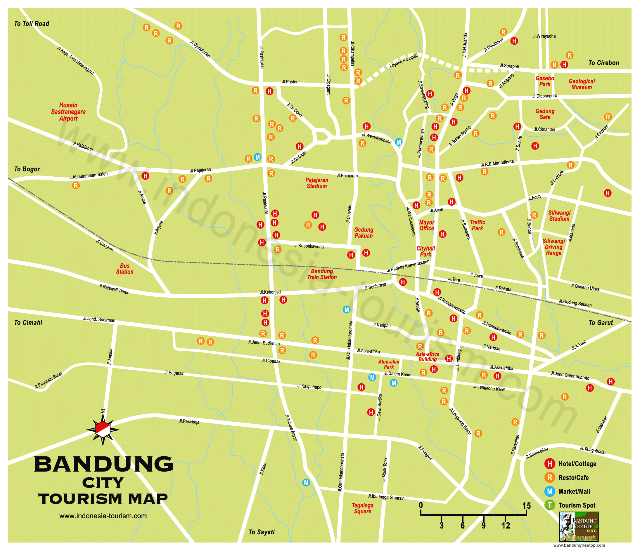 City maps Stadskartor och turistkartor Australia Cambodia etc – Indonesia Tourist Attractions Map