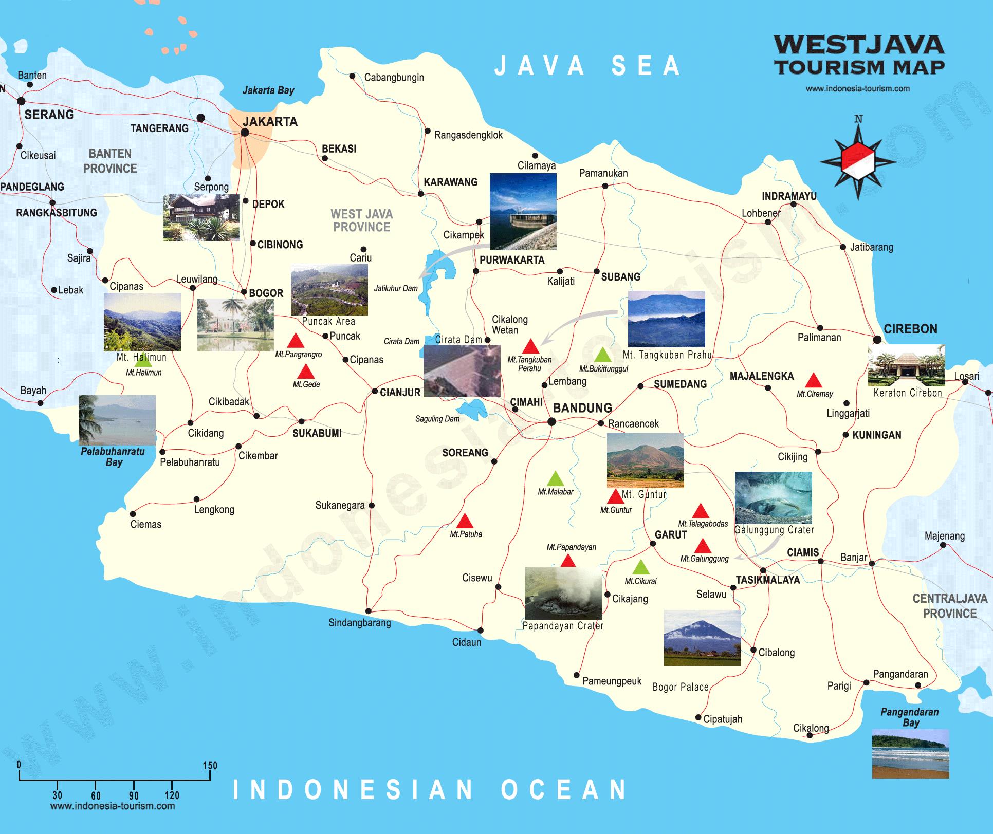 Indonesien Karte Physisch.Java Indonesien Karte