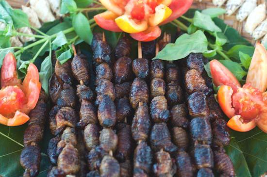 Pictures of Sate Ulat Sagu Makanan Khas Papua Jpg