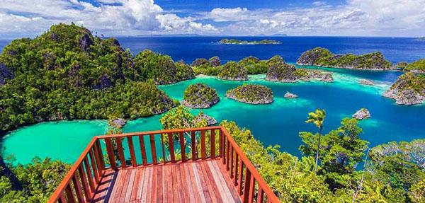 Pianemo Island in Raja Ampat Regency, West Papua