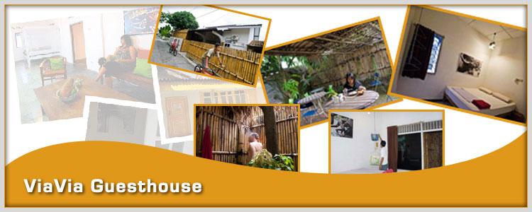 Viavia guesthouse yogyakarta yogyakarta hotel for Home decor yogyakarta