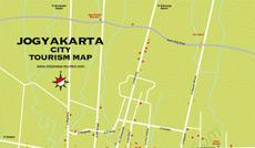 Yogyakarta Map - Jogjakarta Map - Peta Jogja - Peta Yogya
